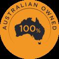 Australian Owned Company Logo.